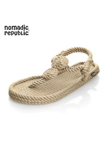Nomadic Republic Sandalet Bej